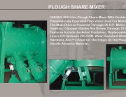 PLOUGH-SHARE-MIXER