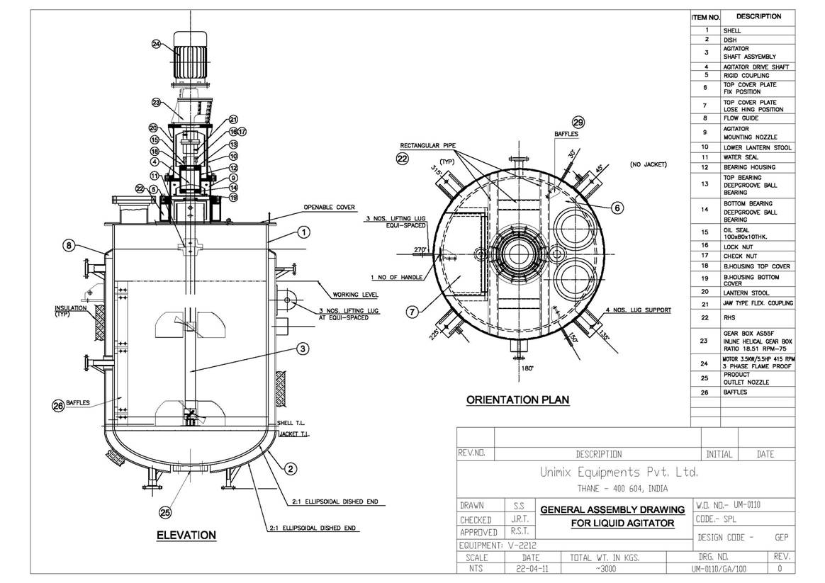 Liquid Mixing Equipment