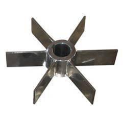 Flat blade turbine