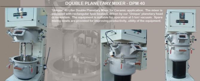 Double-Planetary-Mixer-DPM-40