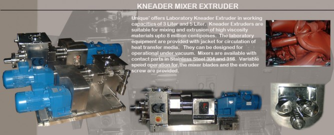 Kneader-Extruders